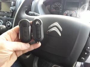 Fiat - Citroen key replacement