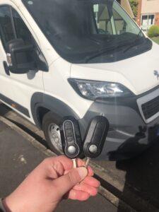 Peugeot Boxer Key - fiat key replacement